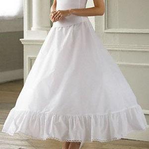 NWT David's Bridal Full Ball Gown Slip